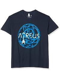 战争之神 - 标志 T 恤 深蓝色
