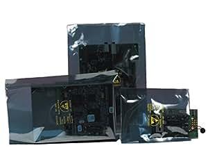 Bauxko 15.24 cm x 40.64 cm 开口静态屏蔽袋,100 个装 (xSTC130-100)