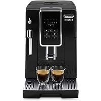 De'Longhi 德龍 Dinamica ECAM 350.15.B全自動咖啡機(1450W,數字顯示屏,新型卡布其諾系統,一鍵制備喜愛的飲品,可拆卸沖泡組件,同時制備2杯) 黑色