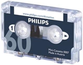 Philips LFH0007 10 包 60 分钟迷你盒式磁带 - 10 条装