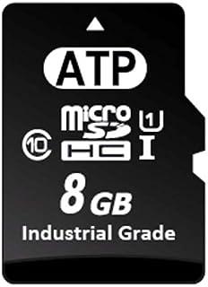 ATP 工业级微型 SD 卡AF8GUDI-5ABXX Micro SD 8GB
