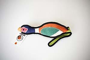 Tuff_Mutt 出品的吱吱吱响帆布狗玩具