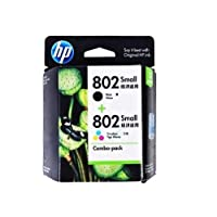HP 惠普 CR312AA 802s黑色+802s彩色墨盒套装 (适用于HP Deskjet 1050/2050/1010/1000/2000/1510/1511)
