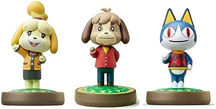3 件裝套裝 [Digby/Rover / Isabelle Winter](動物十字游戲系列)適用于 Nintendo Switch - Switch Lite - WiiU - 3DS - (散裝包裝)...