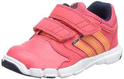 adidas kids 阿迪达斯童鞋 adipure Trainer 360 CF I 女童 运动休闲鞋 喜悦红S13/祈福珊瑚粉S13/学院藏青蓝 UK码:7-K (内长:145mm)