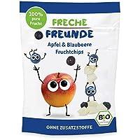 Freche Freunde 蘋果&藍莓水果片12包裝(12 x 16g)
