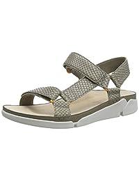 Clarks 女式 Tri Sporty 后带挑空式凉鞋