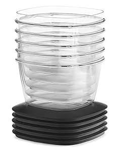 Rubbermaid PREMIER 食品保鲜盒 灰色 7 Cup