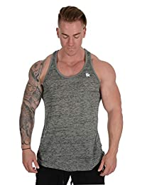 YoungLA Mens Stringer Gym Tank Top Muscle Bodybuilding Powerlifting 302