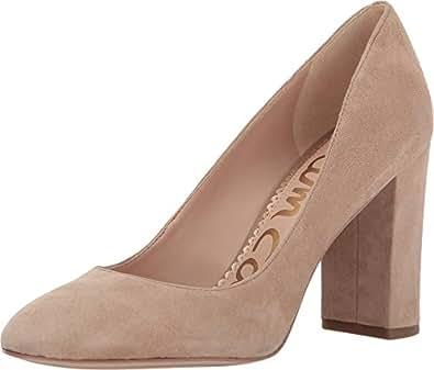 Sam Edelman 女 高跟鞋 Stillson F1973L1250 燕麦片麂皮 36.5 (US 6.5)