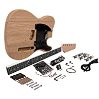 Seismic Audio - SADIYG-05 - 高级 DIY 传统经典风格电吉他套件 - 未完成 Luthier Project 吉他套件