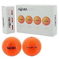 本间高尔夫 高尔夫球 NEW D1 BT-1801 橙色 1分 (12个) 橙色