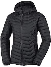 Columbia Sportswear Women's Powder Lite Hooded Insulated Jacket, Black, 2X
