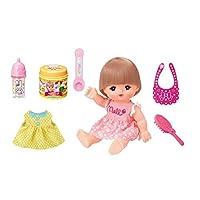 日本Mellchan咪露娃娃玩具女孩玩具咪露进餐套装MELC513118