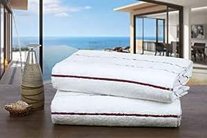 Ample Décor 埃及长绒棉*吸水海滩毛巾
