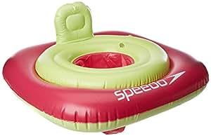 Speedo 女童西式游泳池,粉色,均码
