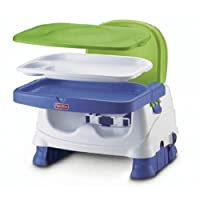 Fisher-Price Booster Seat, Blue/Green/Gray (Discontinued by Manufacturer)