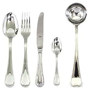 Mepra 87 件空心手柄 Raffaello 餐具套装 银色 102928049