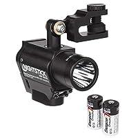 Nightstick NSP-4650B 头盔式多功能双灯手电筒,黑色 黑色 1包 NSP-4650B