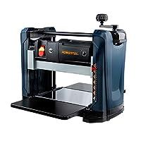 POWERTEC 15 安培 2 刀片台式厚刨机适用于木工 | 12-1/2 英寸(约 31.75 厘米)。 便携 PL1252