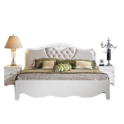 全友家居 法式欧式床双人床婚床1.