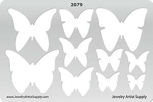 创意形状模板–蝴蝶–2079