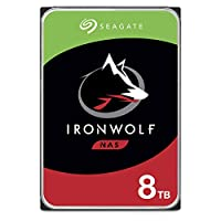 Seagate IronWolf NAS 內置硬盤ST8000VNZ04/N004  IronWolf HDD 8TB