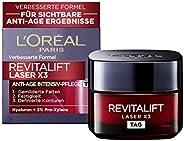 L'Oréal Paris 巴黎欧莱雅 复颜光学系列(Revitalift Laser X3) 玻尿酸冻龄面霜日霜,三倍锁龄作用,紧致肌肤减少皱纹,