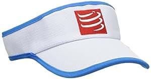 Compressport 中性 60克轻量空顶帽遮阳帽太阳帽鸭舌帽户外运动帽跑步帽子Visor CS-VISOR08 白 均码