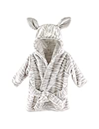 Hudson Baby 宝宝动物毛绒浴袍 斑马图案 0-9 个月
