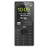 ZTE中兴 L880 移动/联通 直板按键触屏手写大字大声中老年人手机学生机备用机老人手机 (黑色)