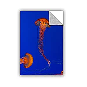 Scott Campbell's Crossing Pacific Sea Nettles 2, Removable Wall Art Mural 24x36