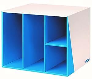 Bankers Box Premier 4-Compartment Organizer, Blue (7648701)