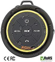 iFox iF012 蓝牙淋浴扬声器 – 经过认证的防水 – 无线连接可轻松搭配所有蓝牙设备 – 手机、平板电脑、电脑、收音机