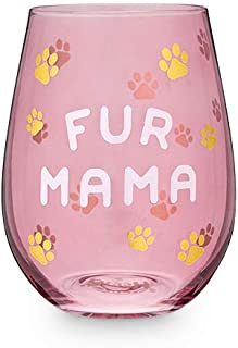 Fur Mama 567ml 无柄酒杯 Blush 出品