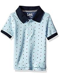 LEE 男童小短袖 Polo 衫