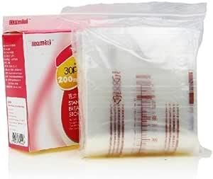 mamiai直立式储奶袋200ml*30枚装 母乳保存袋 保鲜袋 韩国原装进口 感温抑菌