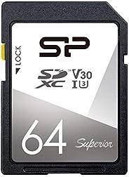 Silicon Power SD卡 高档模型SP064GBSDXCV3V10  64GB