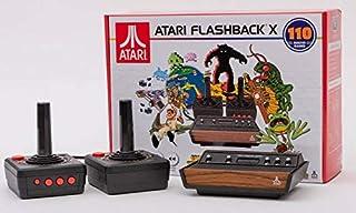 Atari Flashback X 复古控制台 110 内置游戏 - 2 个有线控制器 - HD HDMI - 即插即用