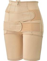 犬印本铺 产后恢复 产后妈妈的多功能束腰裤 G4508 米黄色 L