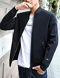 Goralon 男士外套秋冬2018新款韩版潮流修身夹克衫男帅气棒球服男上衣外套
