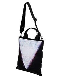 杰华德 中性 竖版简约防水欧美时尚手提包潮单肩斜跨包 CA-02(亚马逊自营商品, 由供应商配送)