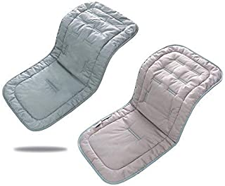 婴儿推车垫,婴儿推车座椅垫婴儿椅垫坐垫座椅垫棉婴儿车床垫座椅适用于儿童户外运动-一卖(灰*)