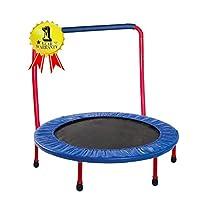 Trampoline 36 英寸儿童便携式*垫和手柄 - 红色