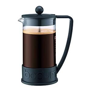Bodum BRAZIL法式按压咖啡壶 1升 8杯 34盎司 黑色