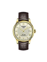 TISSOT 天梭 瑞士品牌 力洛克系列自动机械表男表 自动机械男士手表 T006.407.36.263.00