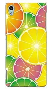 COVERFULL 葡萄 produced by Color Stage / For Xperia Z4So-03g docomo dso03g 声 - MA50Sony