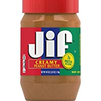 Jif Creamy Peanut Butter, 40 Ounce (Pack of 8)