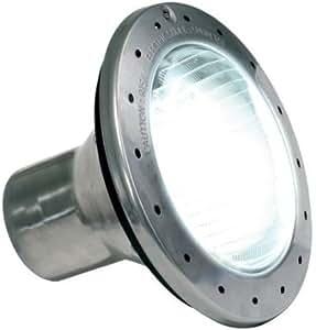 Zodiac WPHV500WS50 120 伏 500 瓦不锈钢白色大白炽池和水疗灯,50 英尺电缆