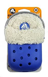 Nite Ize crocs O 形表盘毛绒手机壳适用于手机、相机、MP3 播放器或小型移动设备(蓝色)